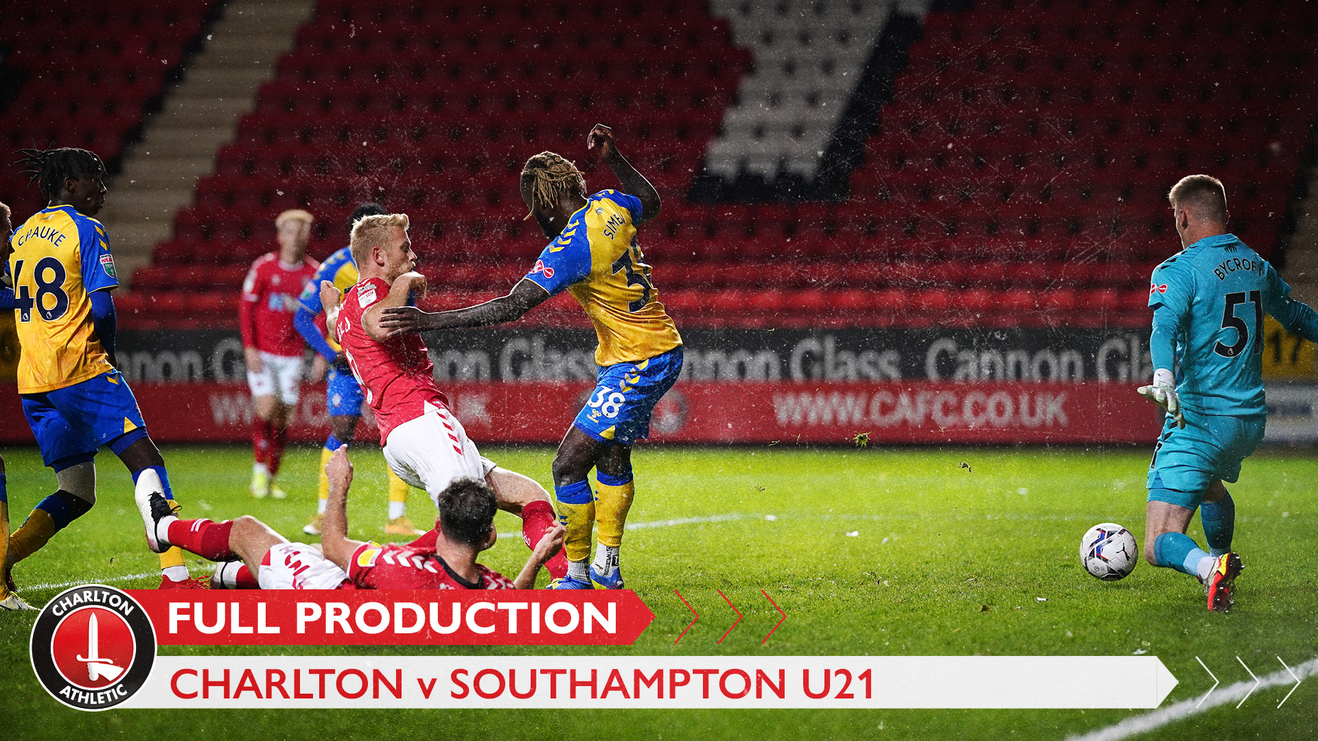 CharltonTV | Full broadcast - Southampton U21 (h) (October 2021)