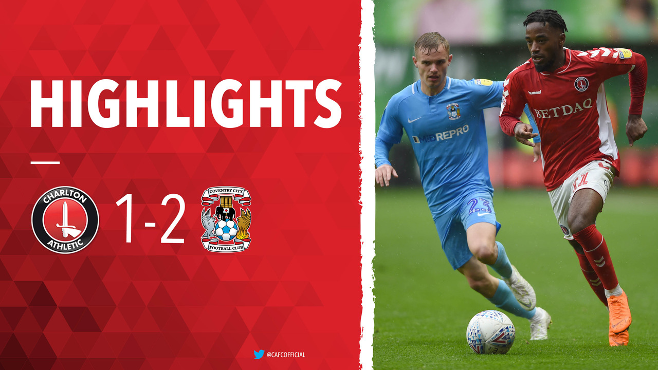 15 HIGHLIGHTS | Charlton 1 Coventry City 2 (October 2018)
