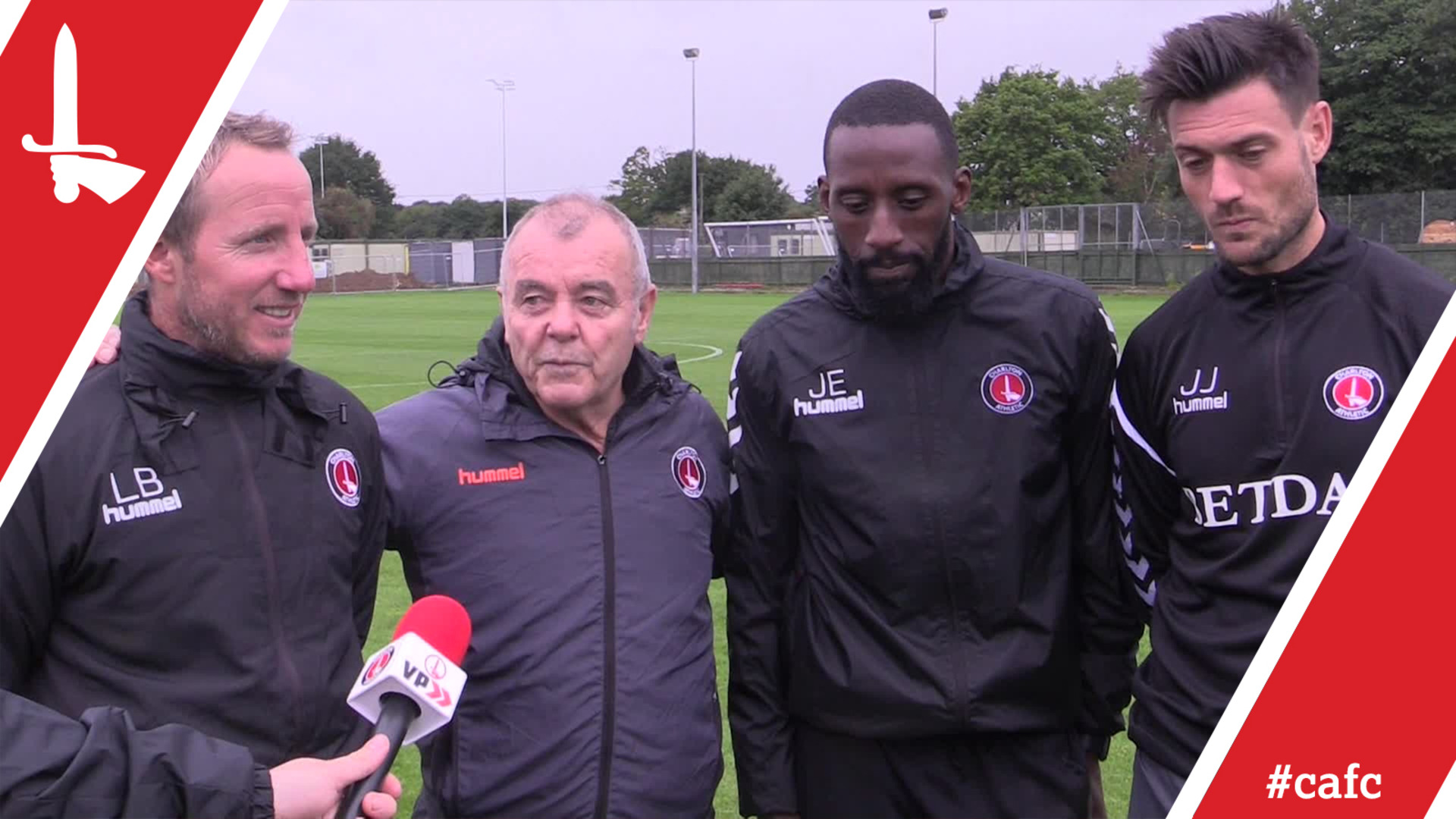 LEGENDS UNITED | Euell and Bowyer put through training