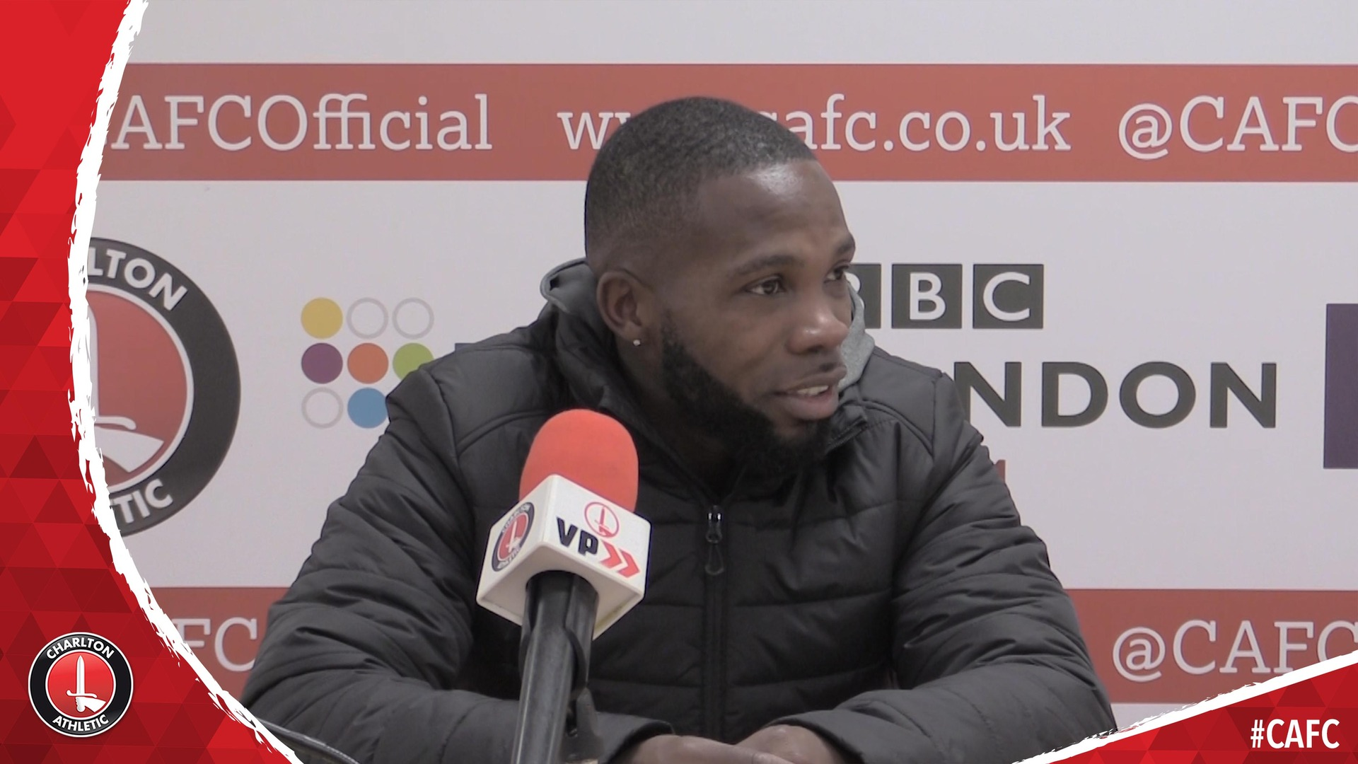 Mark Marshall on scoring in Charlton's 2-0 win over AFC Wimbledon
