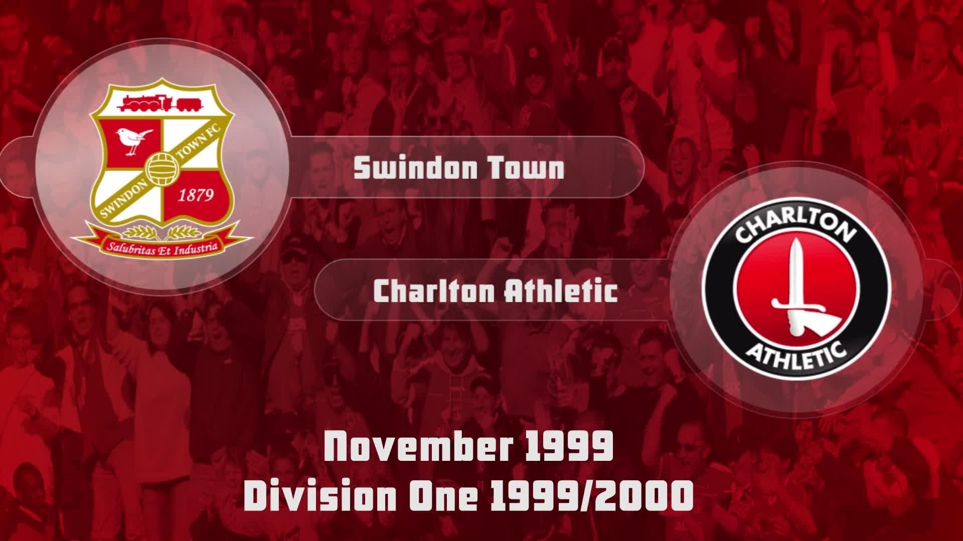 20 HIGHLIGHTS | Swindon 1 Charlton 2 (Nov 1999)