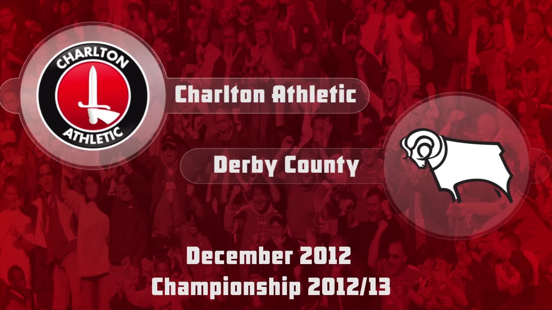 26 HIGHLIGHTS | Charlton 1 Derby 1 (Dec 2012)
