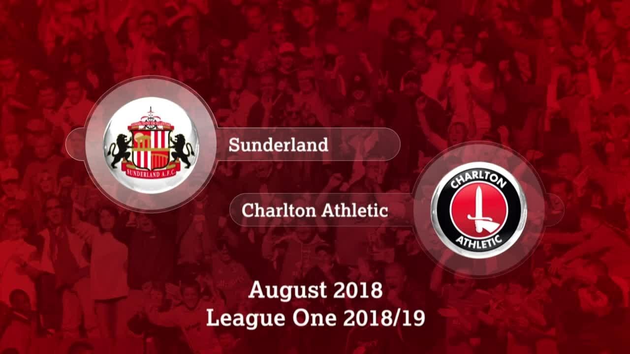 GOALS | Sunderland 2 Charlton 1 (August 2018)