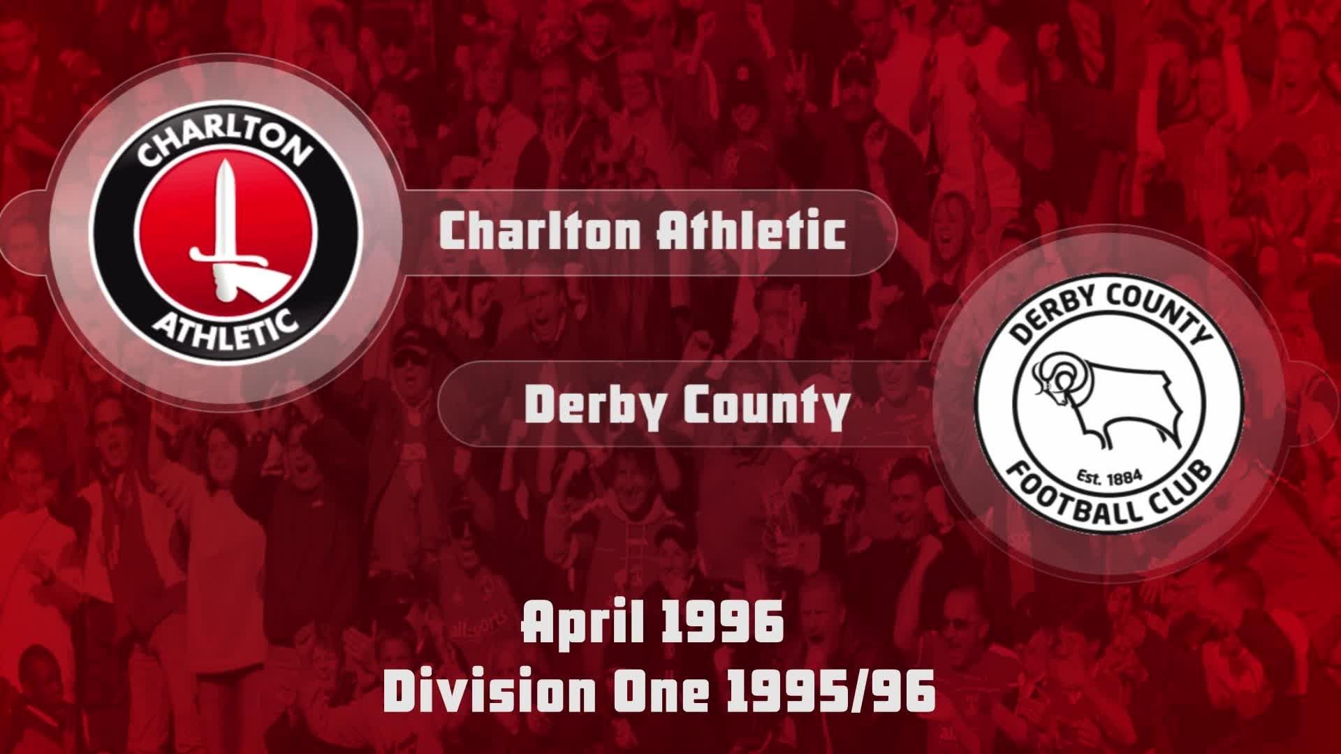 50 HIGHLIGHTS | Charlton 0 Derby 0 (April 1996)