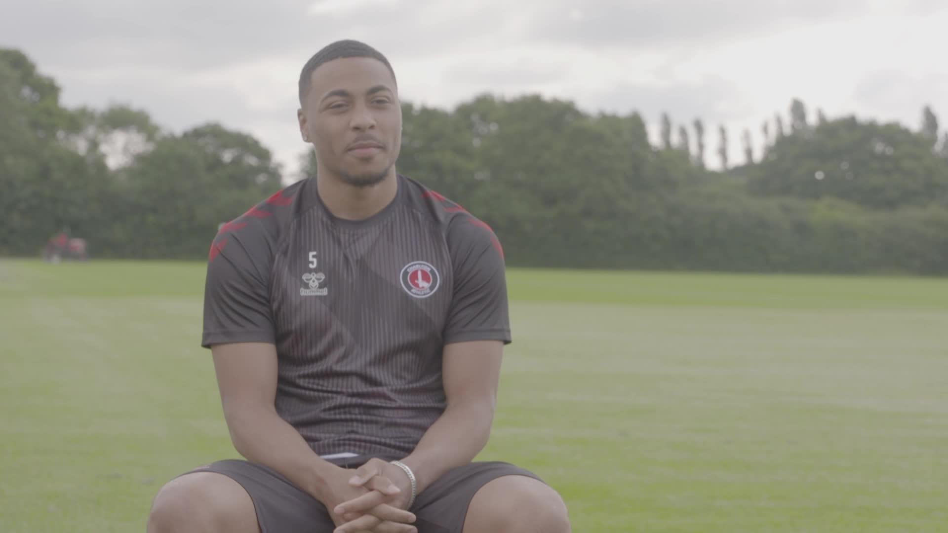 Akin Famewo's first Charlton interview (July 2021)