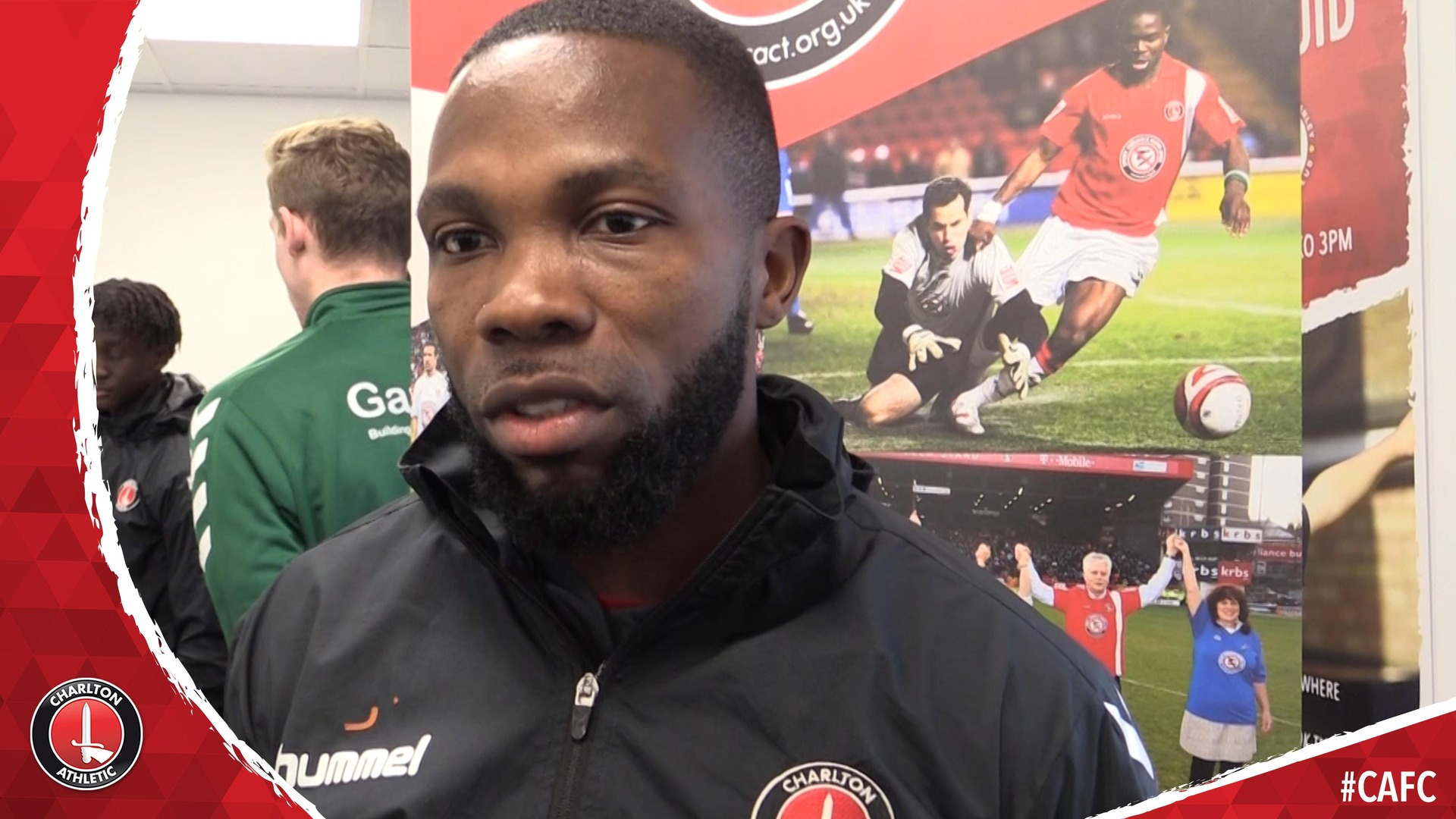 Mark Marshall supports CACT's Street Violence Ruins Lives campaign