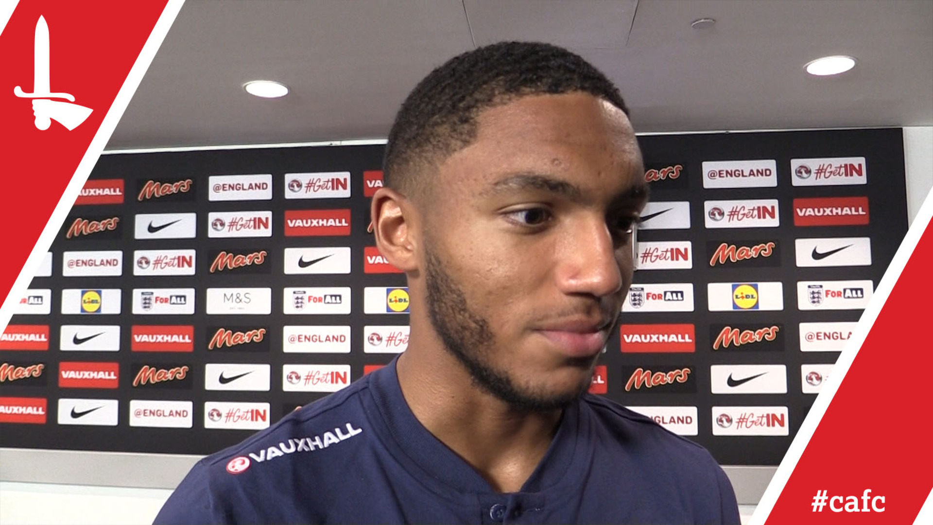 Joe Gomez talks exclusively to Valley Pass after making his England debut