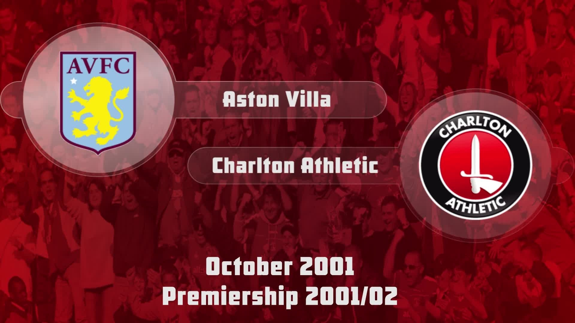 11| HIGHLIGHTS | Aston Villa 1 Charlton 0 (Oct 2001)