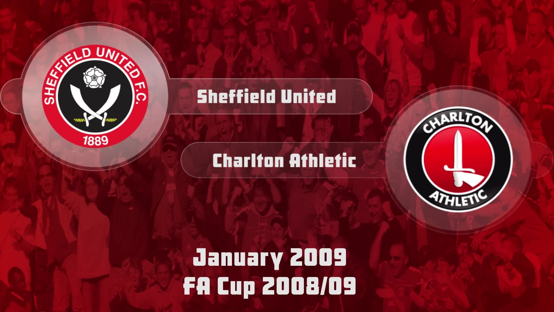 32 HIGHLIGHTS | Charlton 2 Sheff Utd 1 (Jan 2009)
