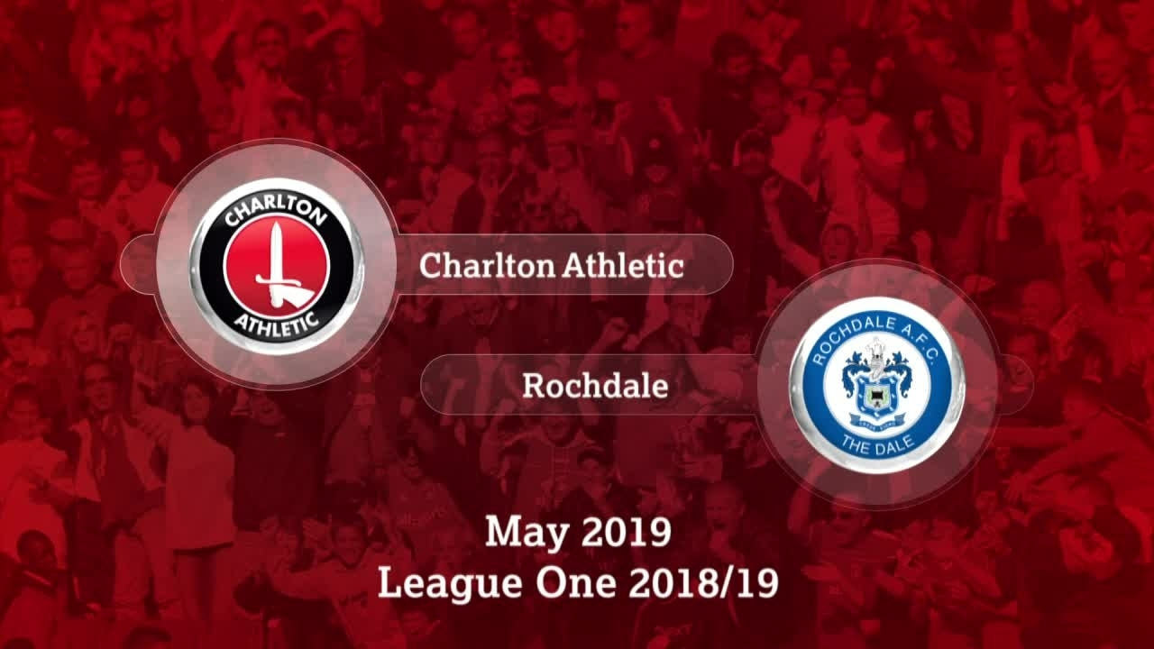 GOALS | Charlton 4 Rochdale 0 (May 2019)