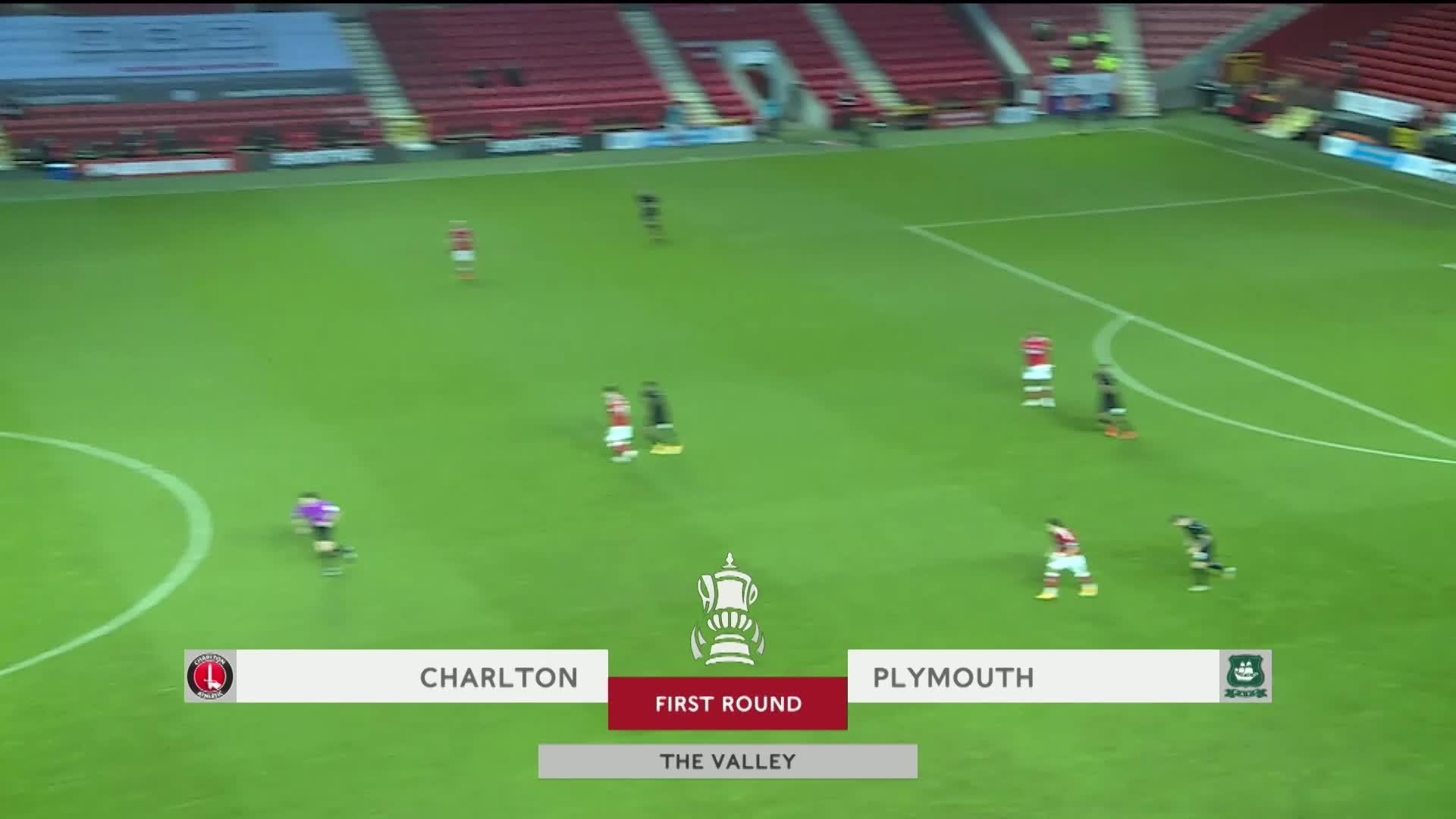 HIGHLIGHTS   Charlton 0 Plymouth Argyle 1 (November 2020)