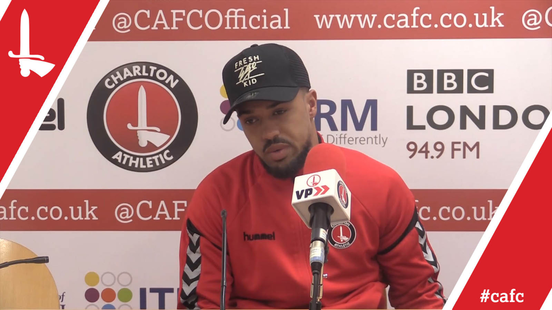 Nicky Ajose looks ahead to Charlton's play-off second leg