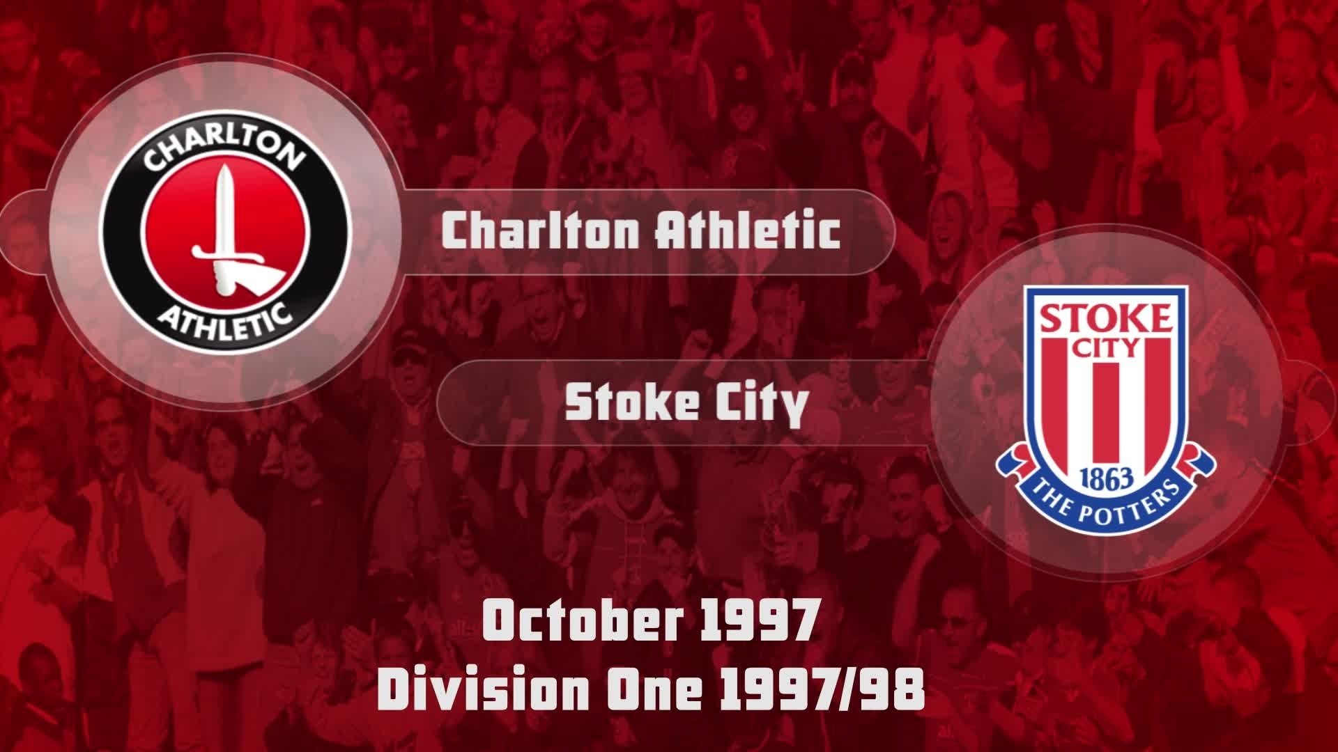 13 HIGHLIGHTS | Charlton 1 Stoke 1 (Oct 1997)