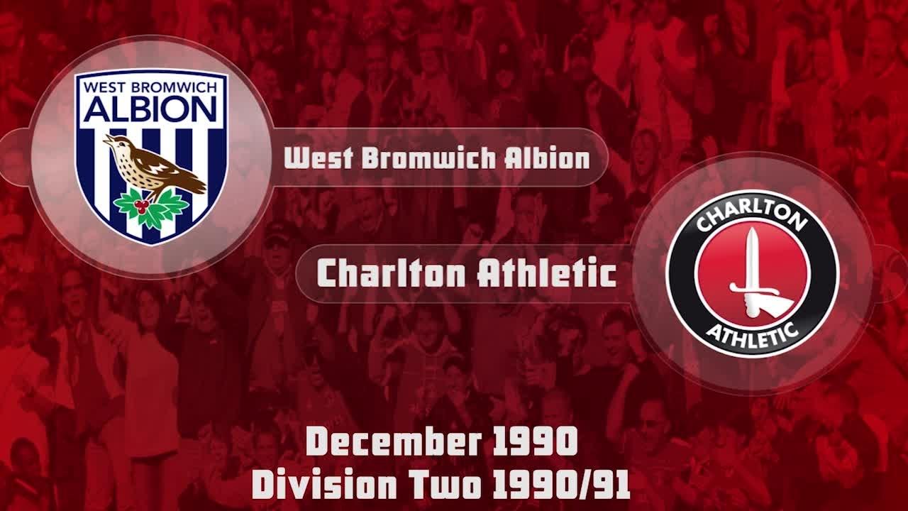 25 HIGHLIGHTS | West Brom 1 Charlton 0 (Dec 1990)