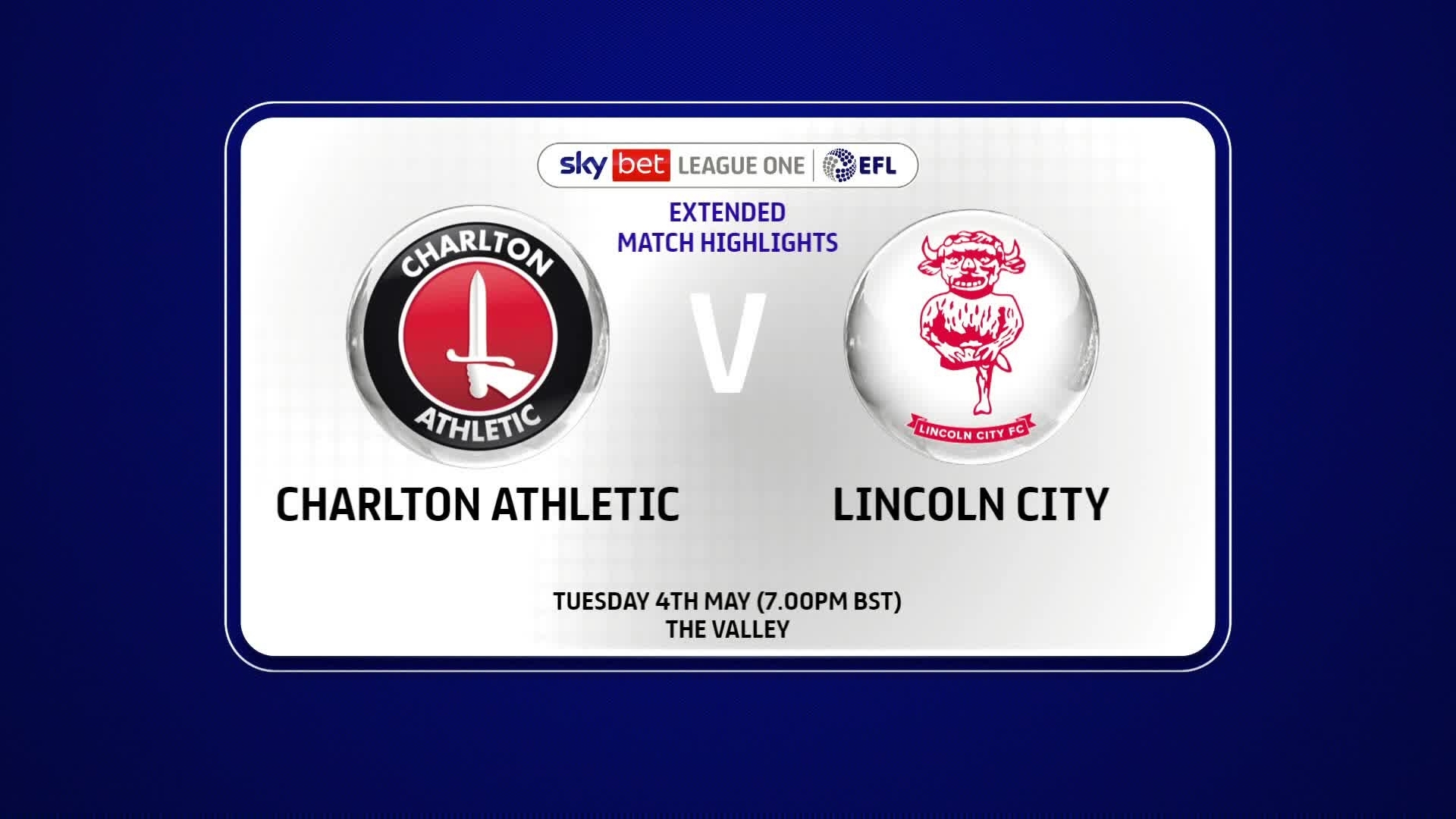 EXTENDED | Charlton 3 Lincoln 1 (May 2021)