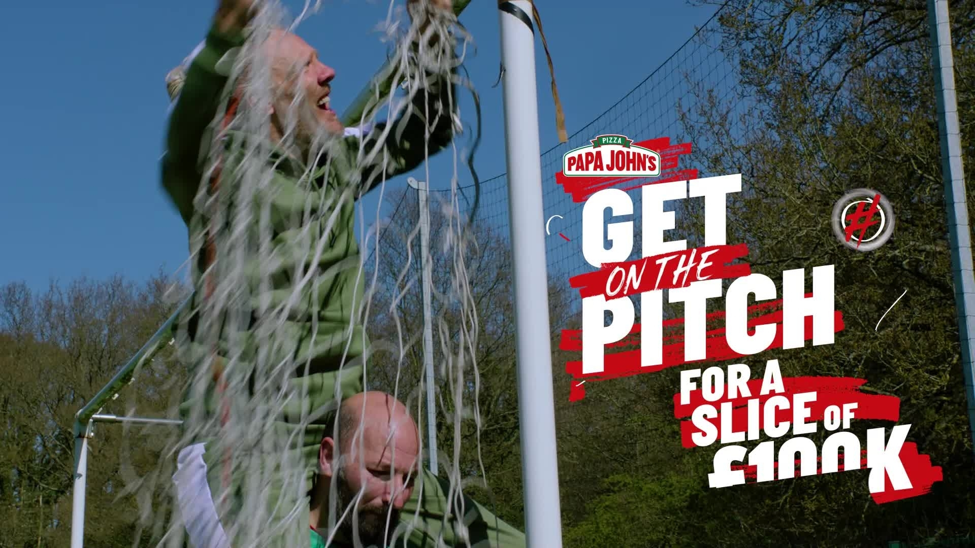 Get On The Pitch and grab a slice of £100K