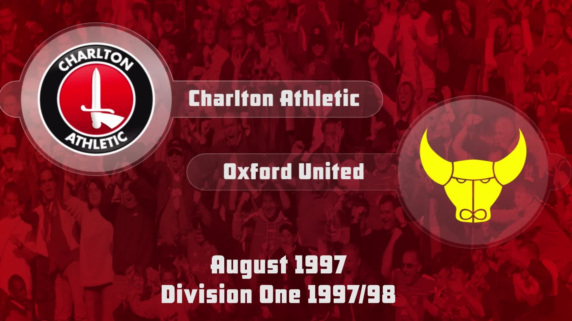 03 HIGHLIGHTS | Charlton 3 Oxford 2 (Aug 1997)