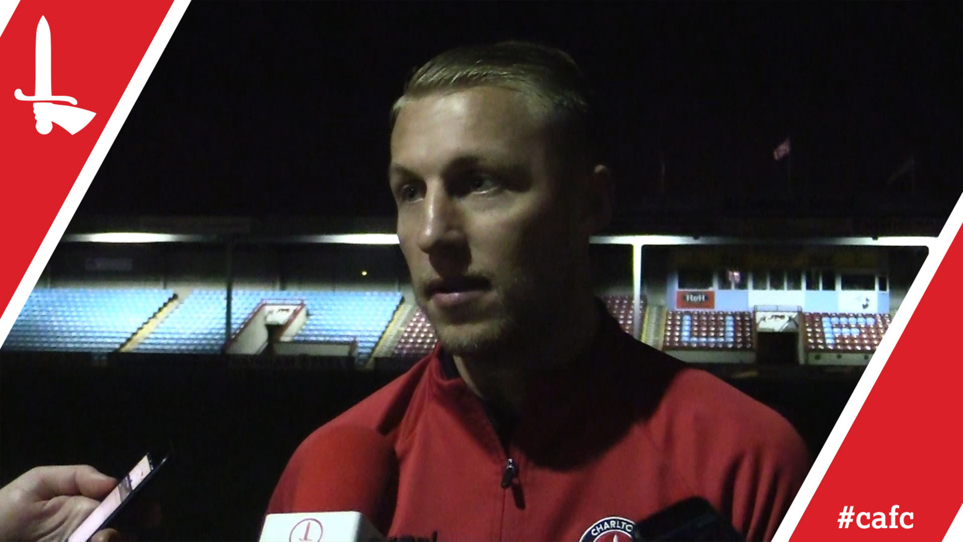Chris Solly on reaching a landmark and Charlton's defeat at Scunthorpe