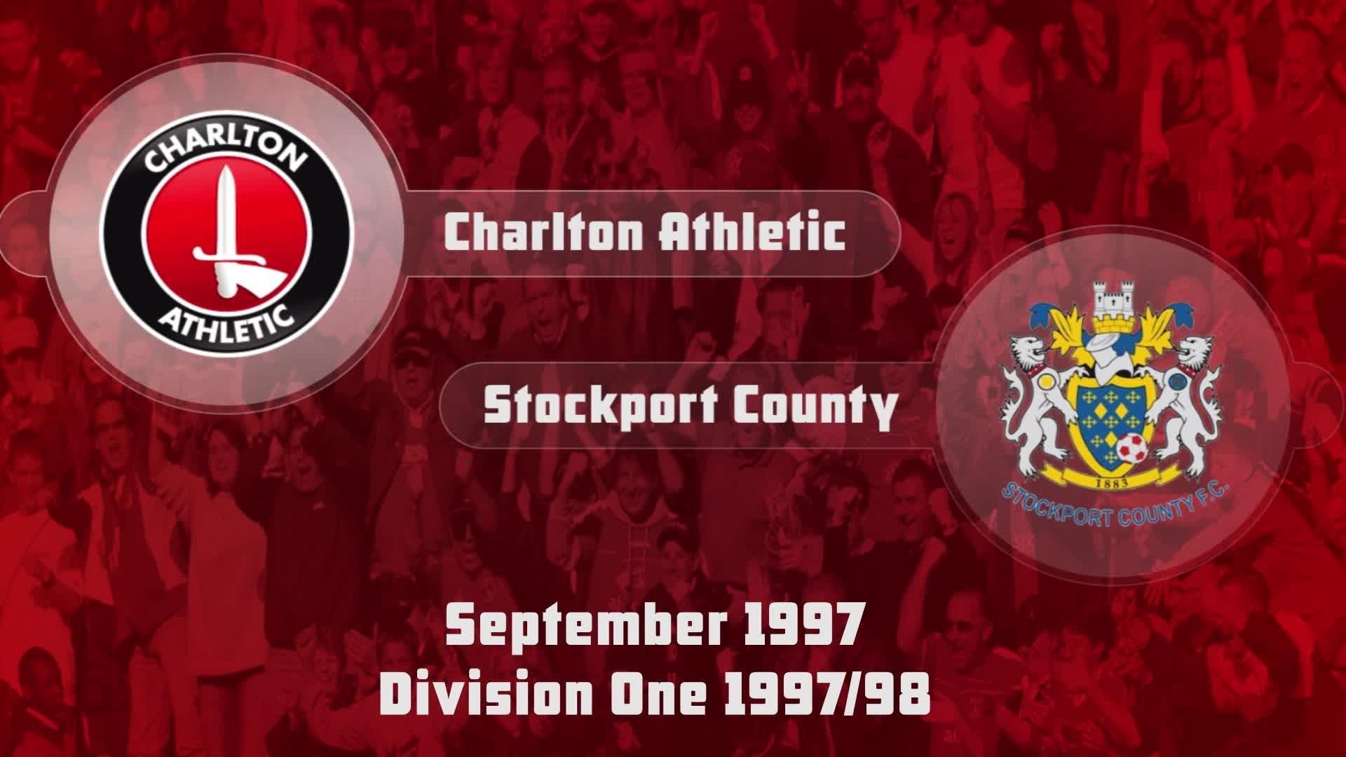 10 HIGHLIGHTS | Charlton 1 Stockport 3 (Sept 1997)