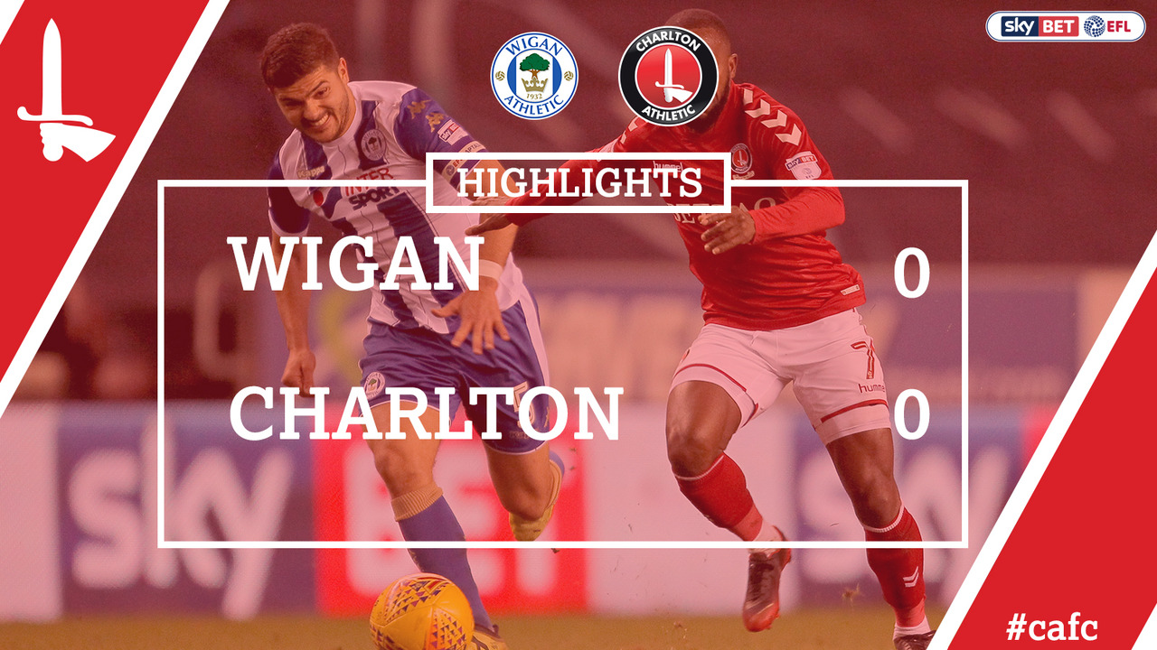 32 HIGHLIGHTS | Wigan 0 Charlton 0 (Dec 2017)