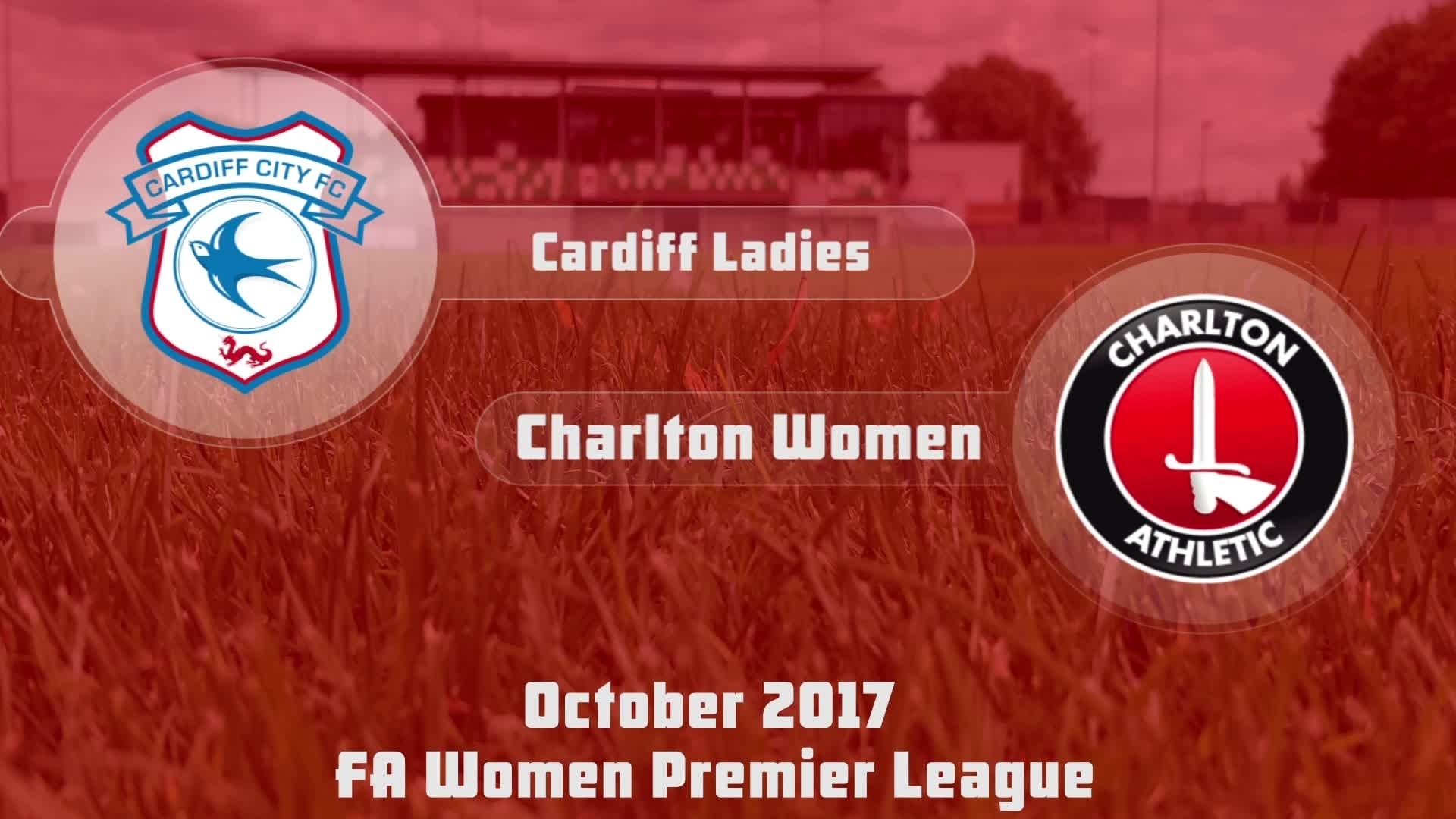 WOMEN HIGHLIGHTS | Cardiff City Ladies 1 Charlton Women 3