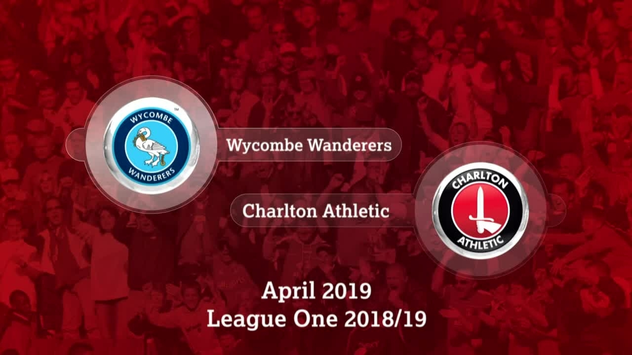 GOALS | Wycombe Wanderers 0 Charlton 1 (April 2019)