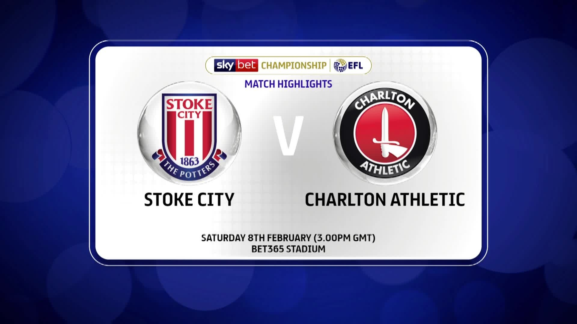 HIGHLIGHTS | Stoke 3 Charlton 1 (February 2020)