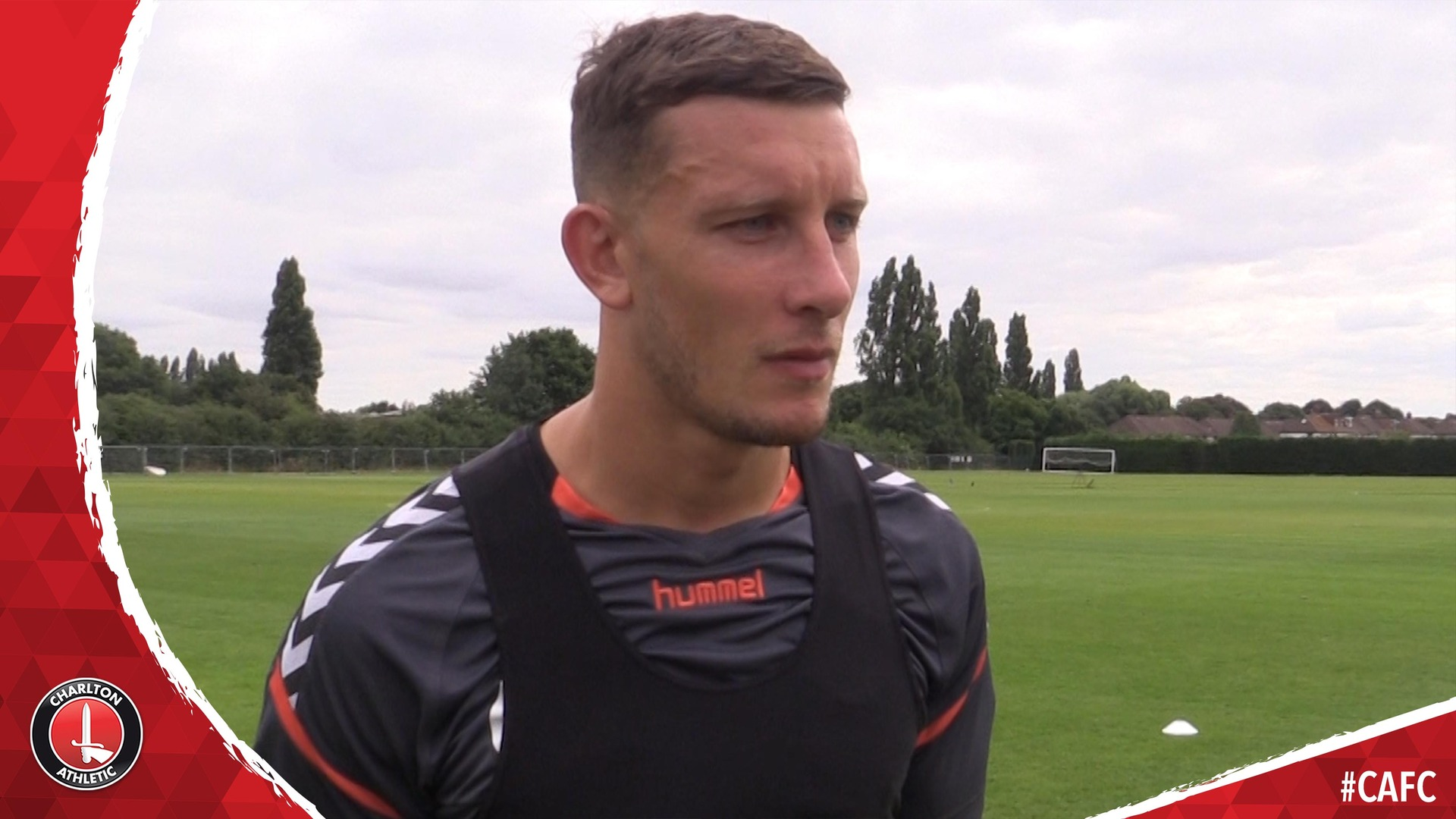 Jason Pearce on pre-season training and reuniting with Lyle Taylor