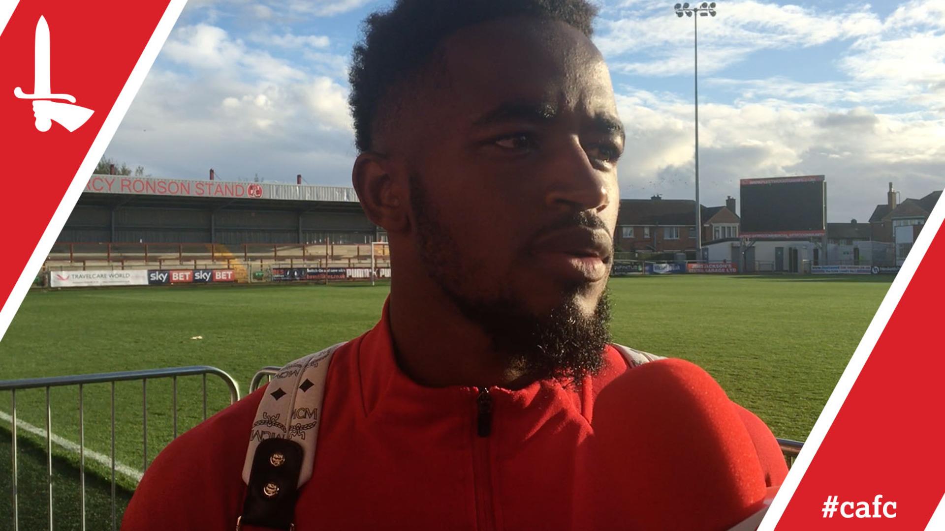 Hat-trick hero Tariqe Fosu 'over the moon' after Fleetwood win
