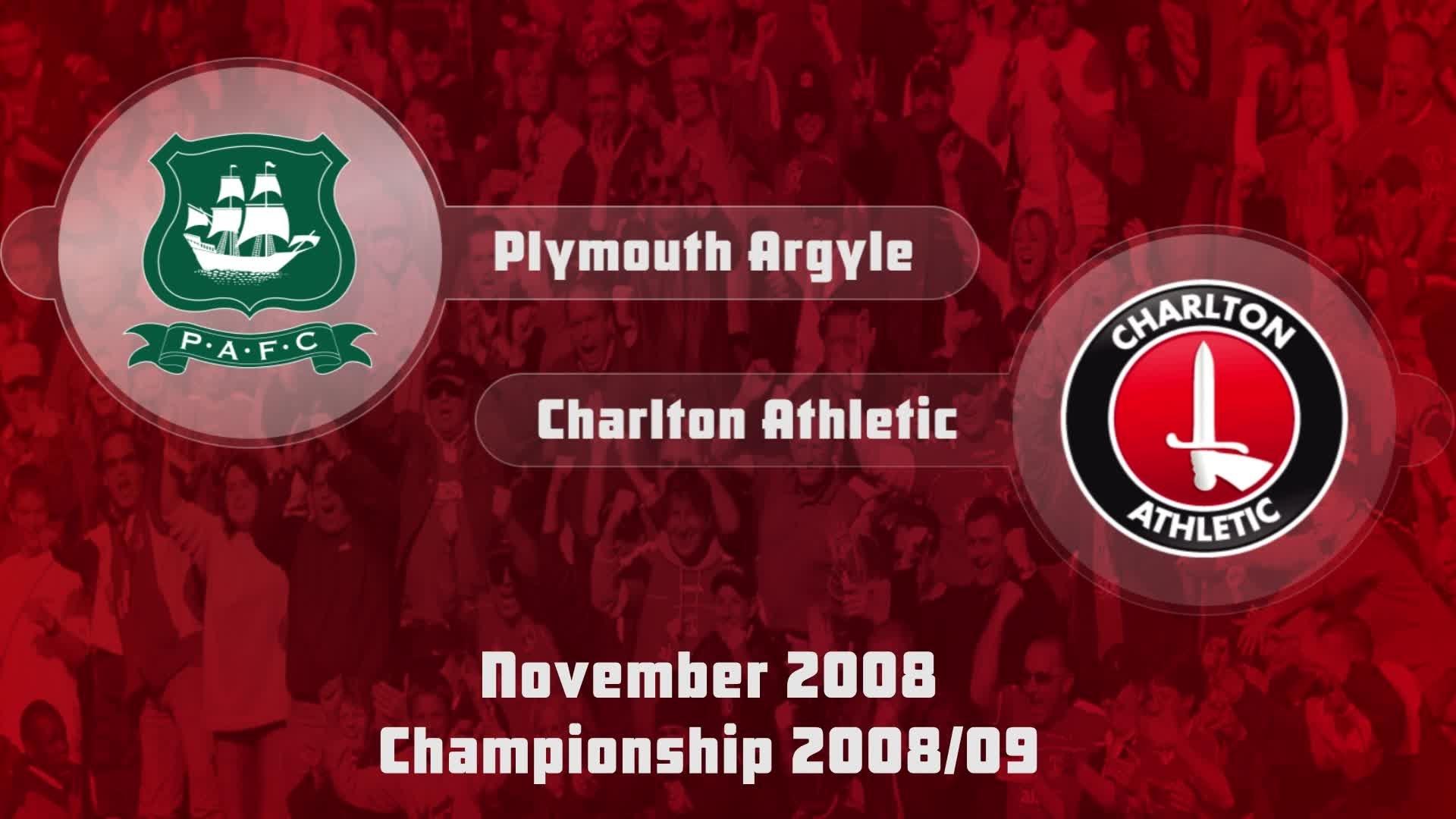 17 HIGHLIGHTS | Plymouth 2 Charlton 2 (Nov 2008)