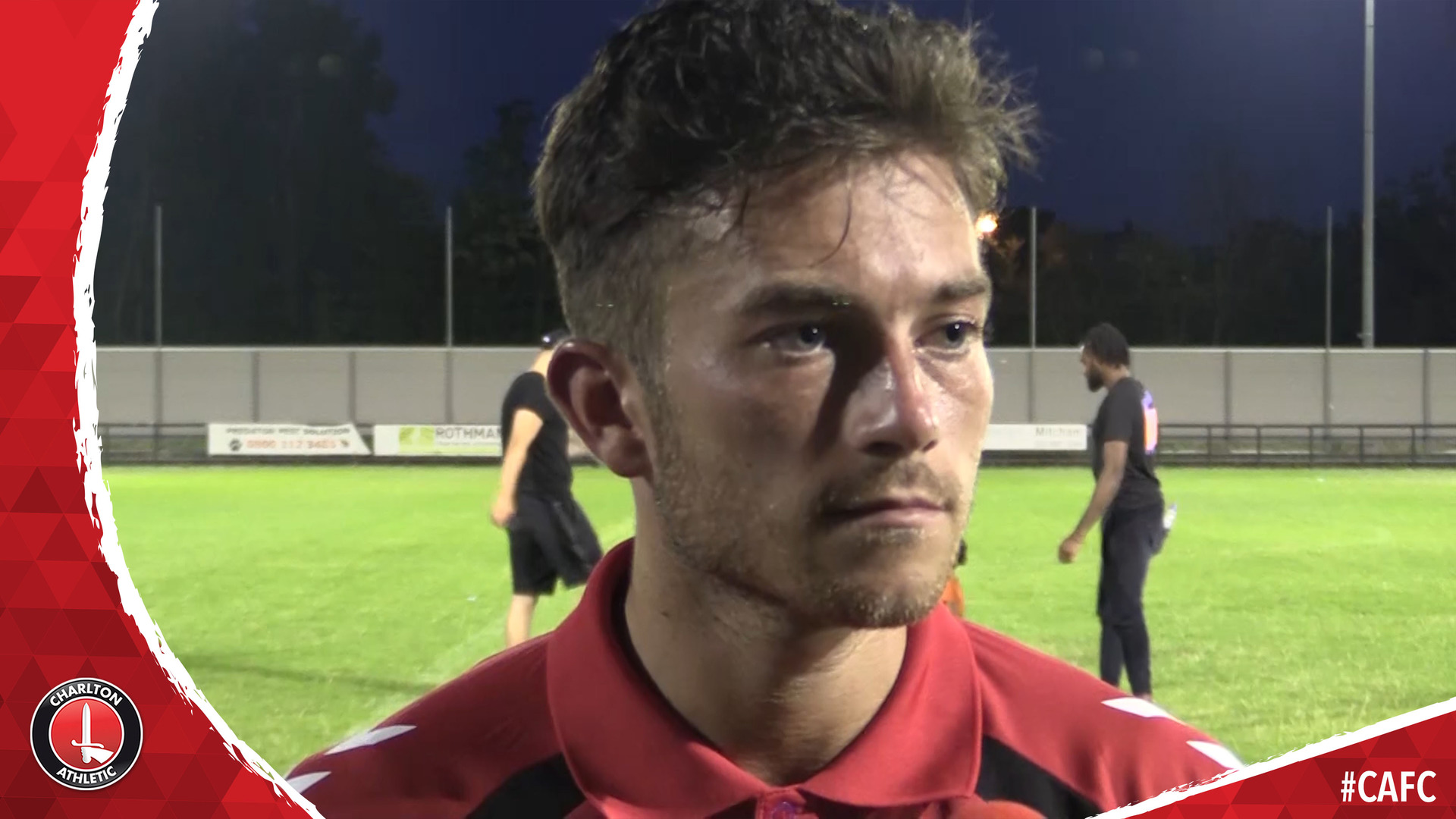 Lewis Page on Charlton's pre-season victory at Dulwich Hamlet