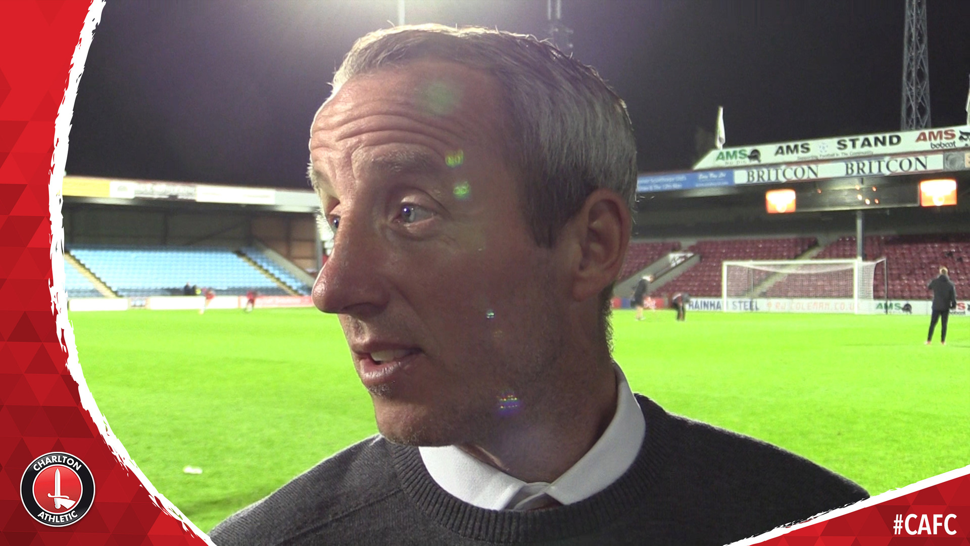Lee Bowyer reflects on Charlton's defeat at Scunthorpe United