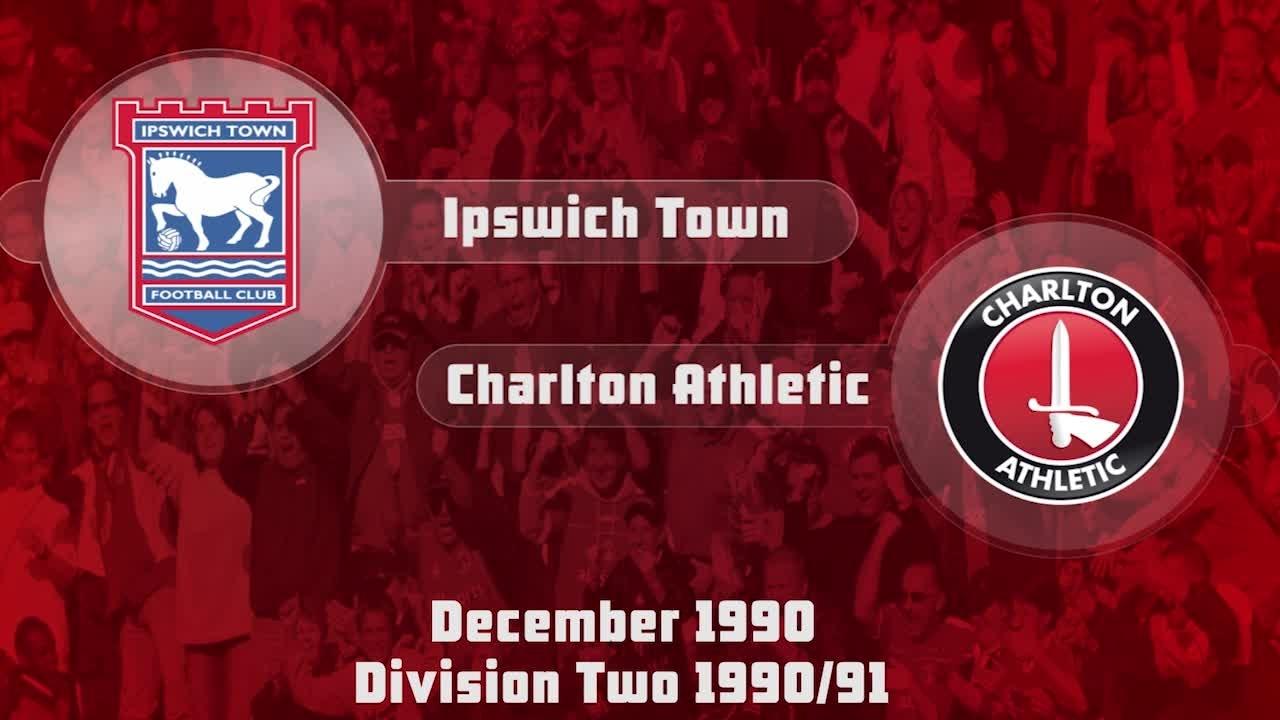 26 HIGHLIGHTS | Ipswich 4 Charlton 4 (Dec 1990)