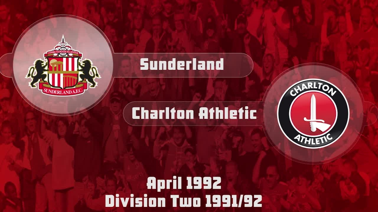 49 HIGHLIGHTS | Sunderland 1 Charlton 2 (April 1992)