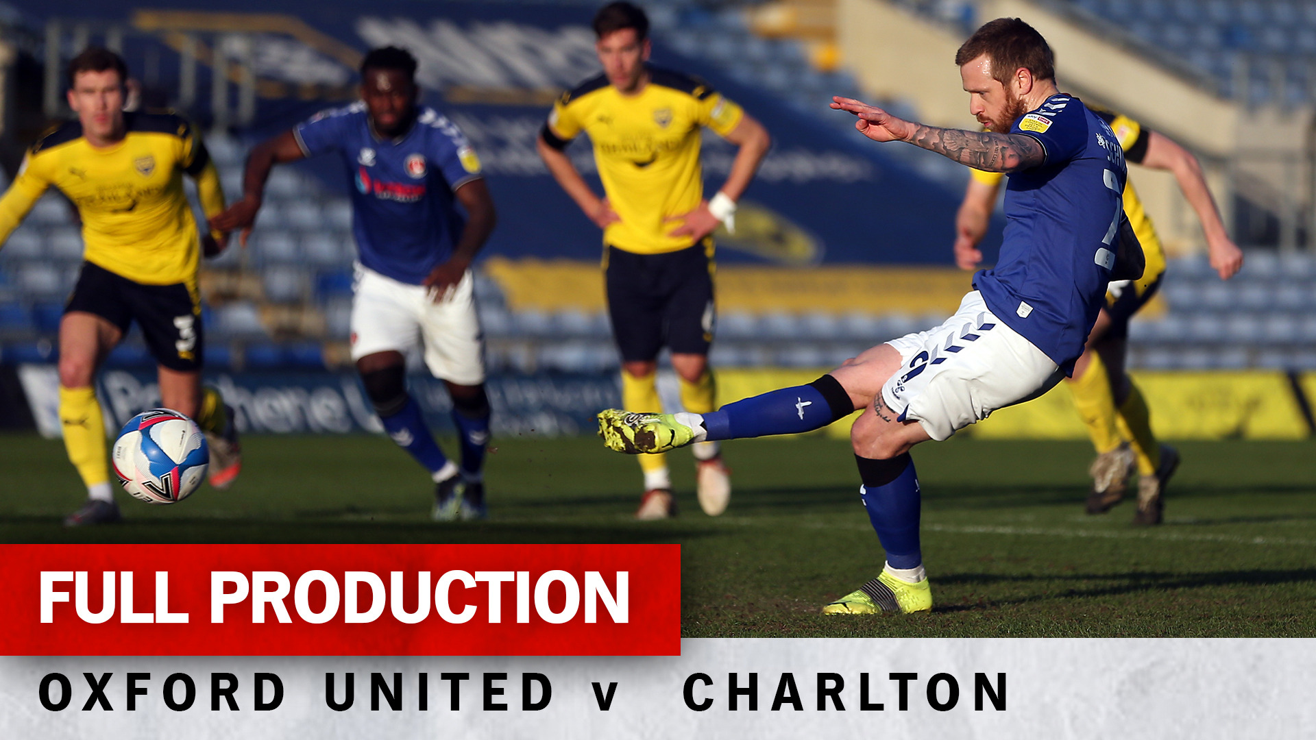 Charlton TV Valley Pass Live | Full broadcast - Oxford United (a) (March 2021)