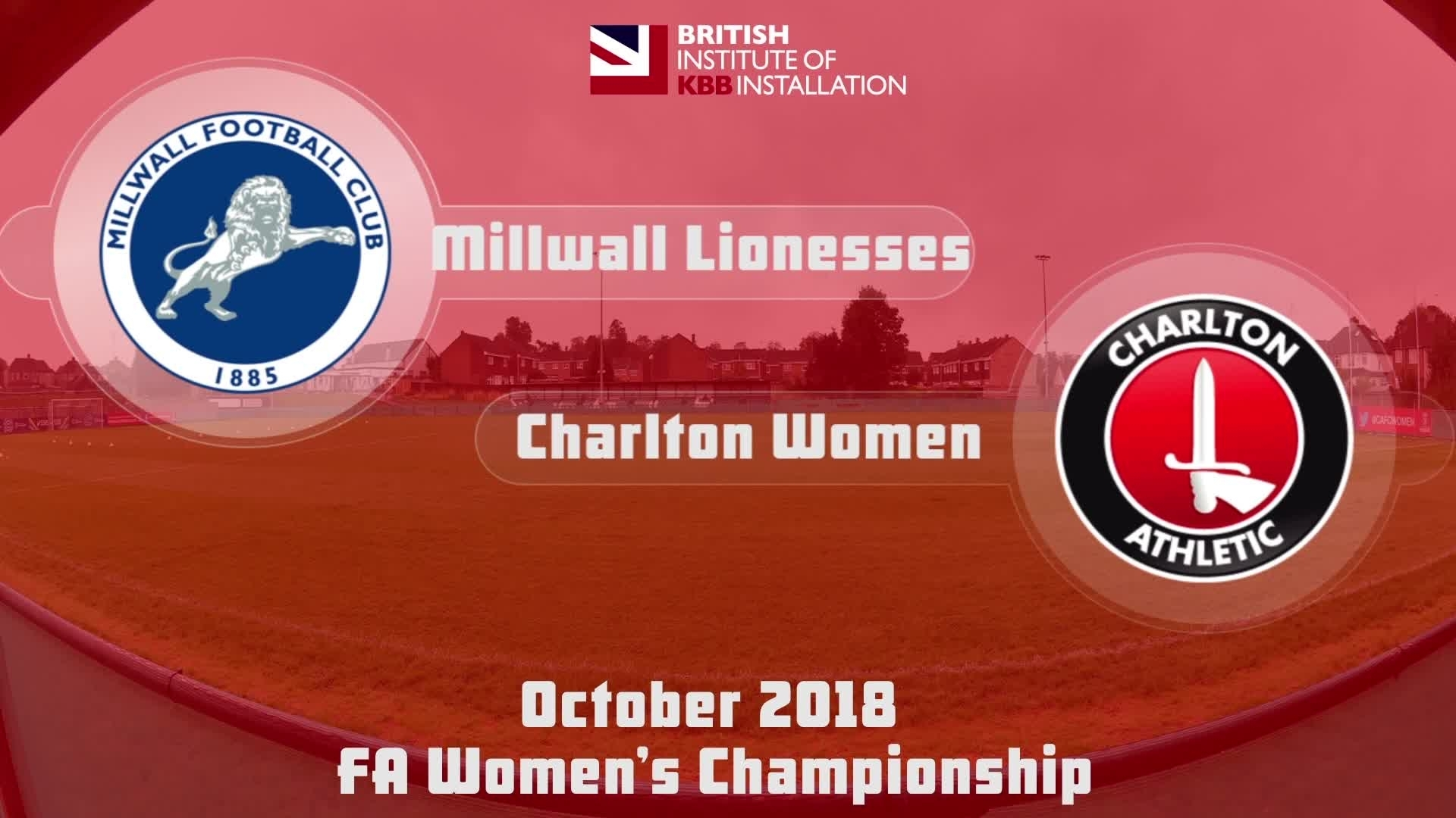 WOMEN HIGHLIGHTS | Millwall Lionesses 0 Charlton Women 8 (Oct 2018)
