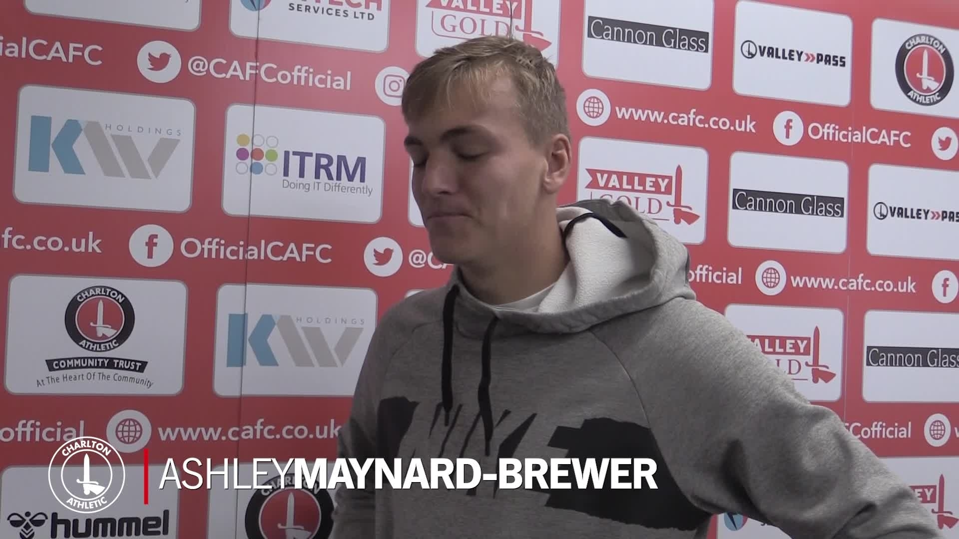 Ashley Maynard-Brewer on committing his future to the club (October 2020)