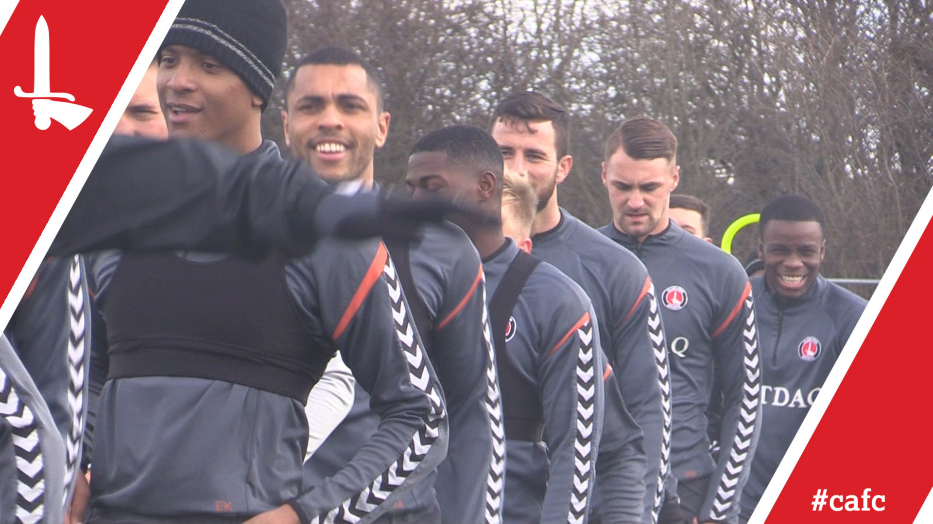 Jay Dasilva returns to Charlton training | Behind the Scenes at the Training Ground (29/03/18)
