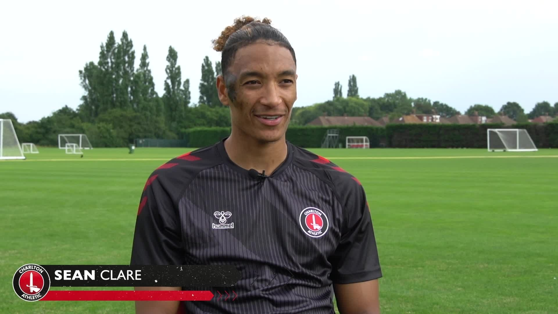Sean Clare's first Charlton interview (July 2021)