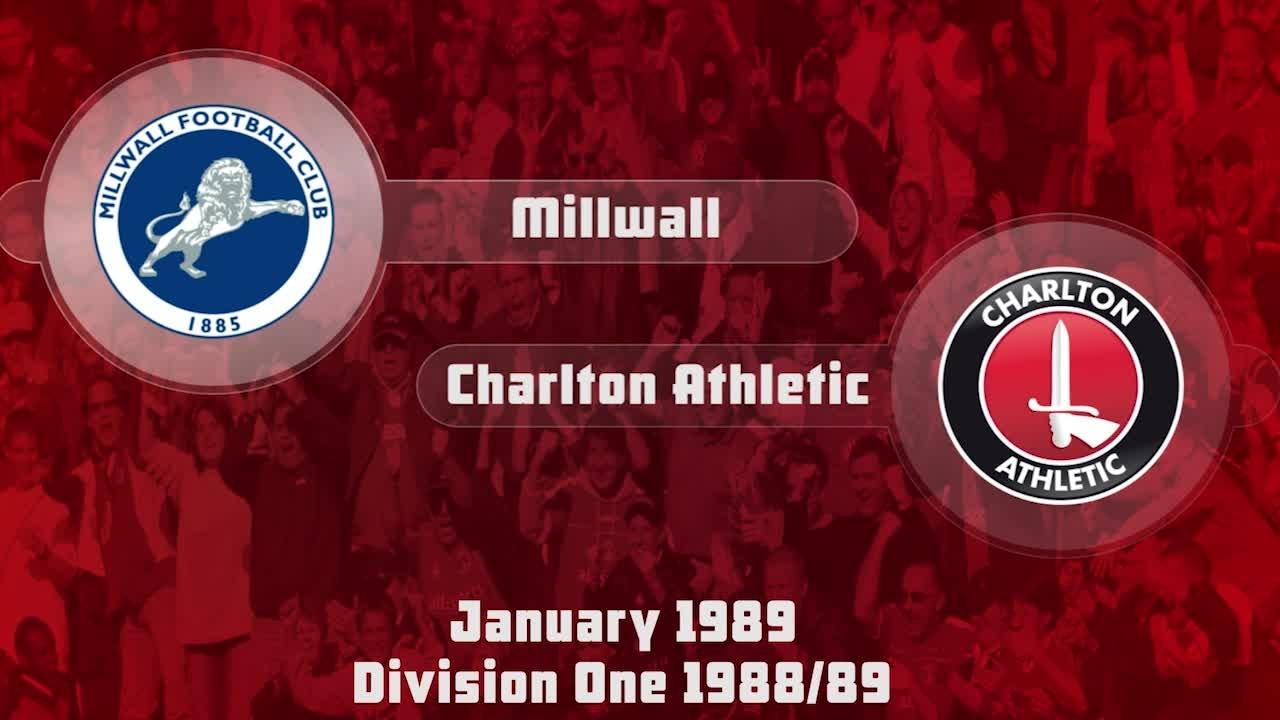 24 HIGHLIGHTS | Millwall 1 Charlton 0 (Jan 1989)