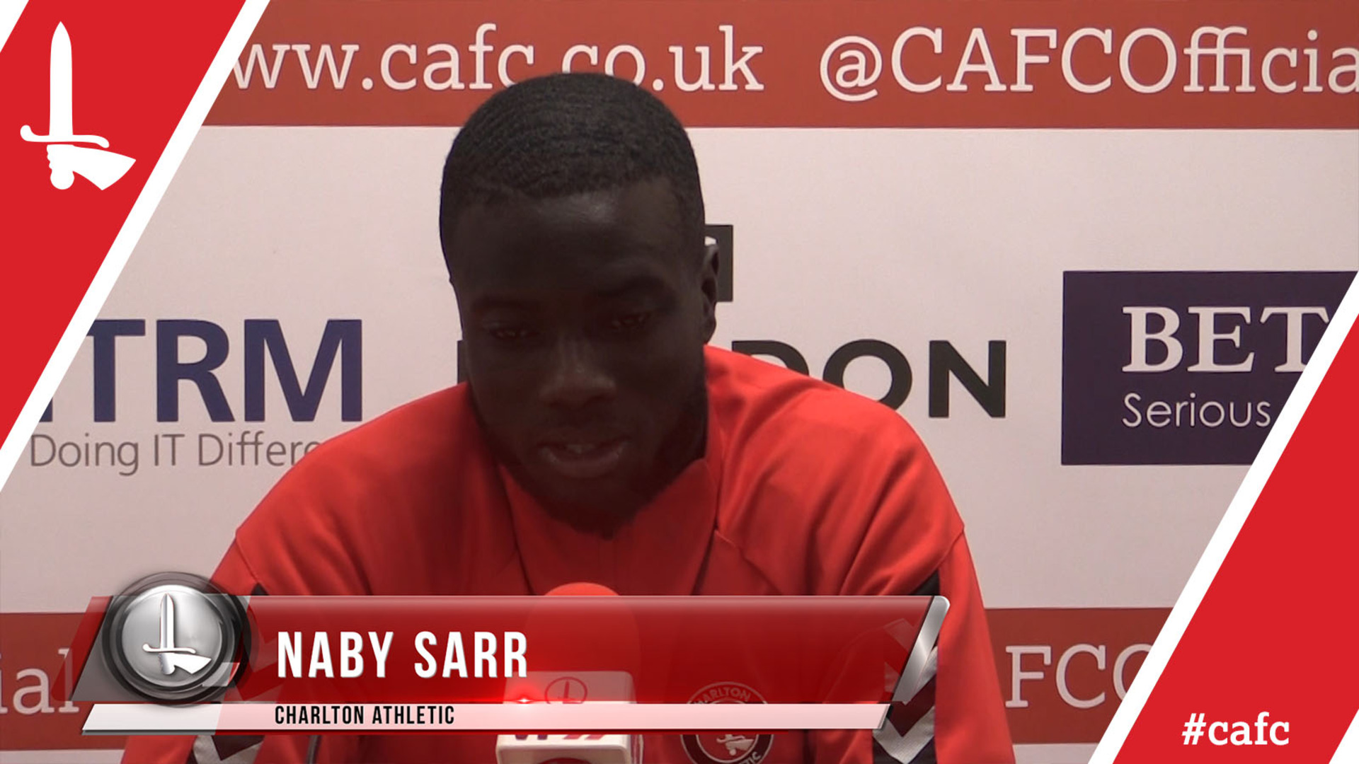 Naby Sarr on Rochdale win and his return to Charlton