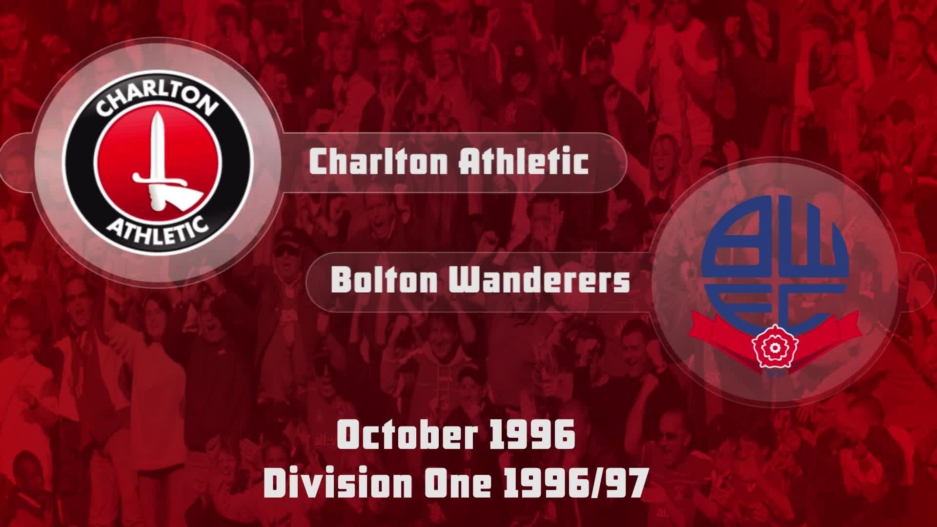 13 HIGHLIGHTS   Charlton 3 Bolton 3 (Oct 1996)