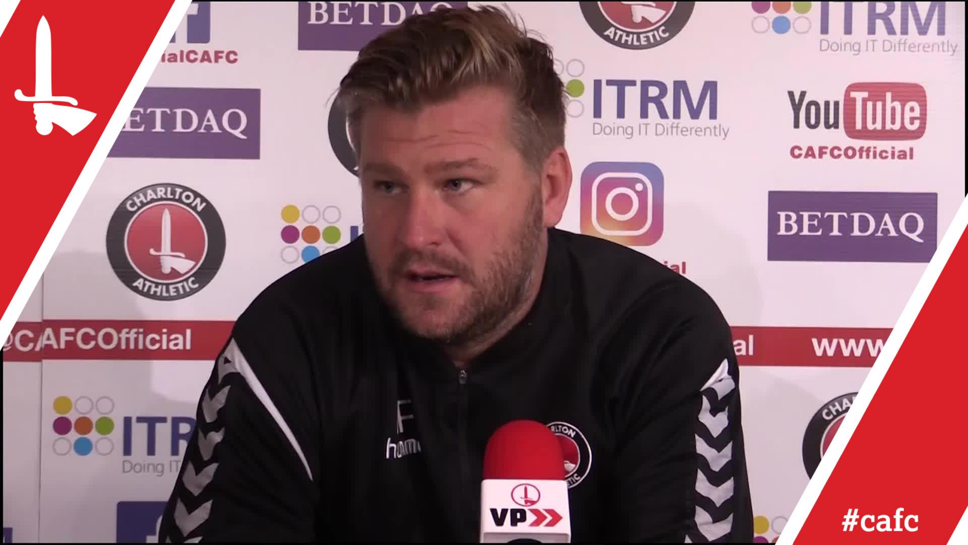Karl Robinson's pre-Bury press conference
