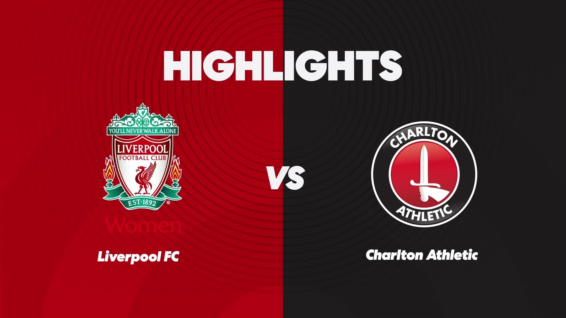 CHARLTON WOMEN | Liverpool 4 Charlton Athletic Women 0 (Sept 2020)
