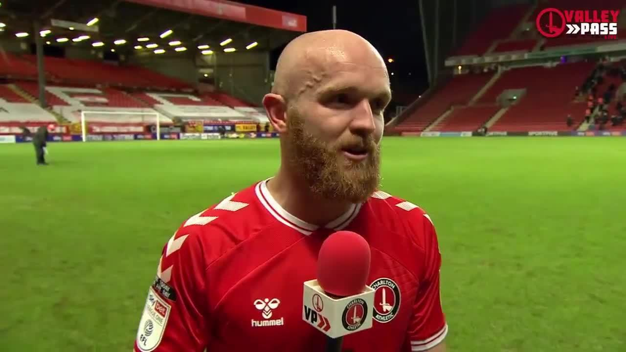 Jonny Williams on the Addicks' 5-2 win at home to AFC Wimbledon (December 2020)