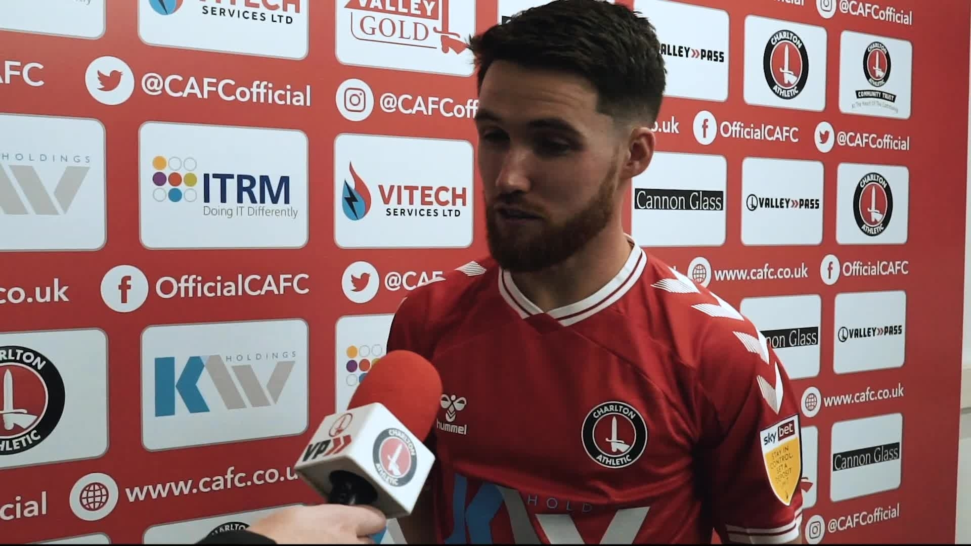Paul Smyth's first interview as a Charlton player (October 2020)