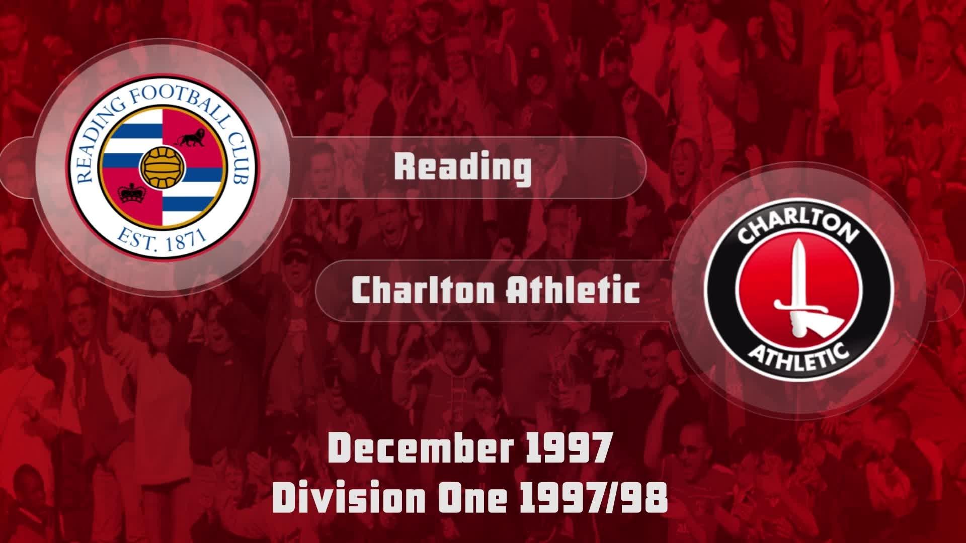 22 HIGHLIGHTS | Reading 2 Charlton 0 (Dec 1997)
