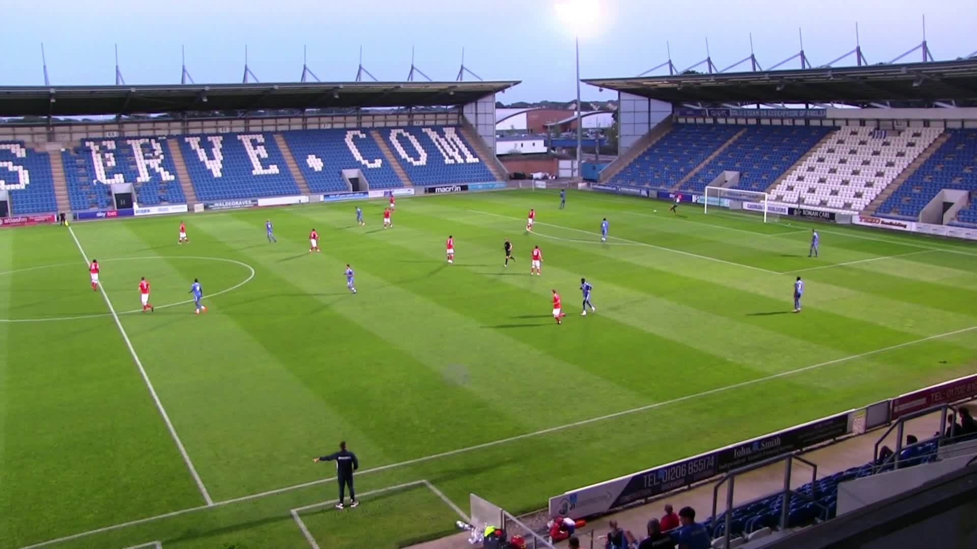 U23 Highlights | Colchester United 0 Charlton 0 (September 2020)