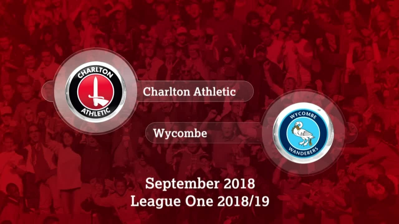 GOALS | Charlton 3 Wycombe Wanderers 2 (September 2018)