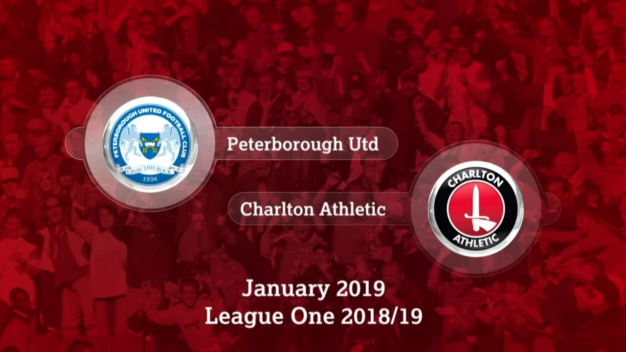 GOALS | Peterborough United 0 Charlton 0 (January 2019)